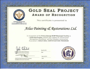 gold seal project